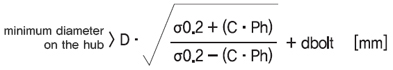 胀紧套最少轮心直径的计算方法