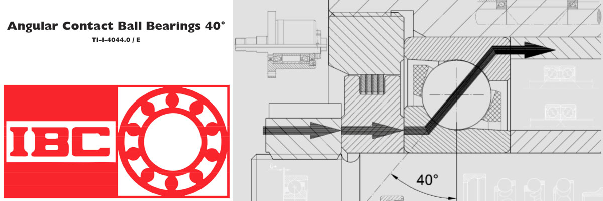 IBC 40°角接触球轴承