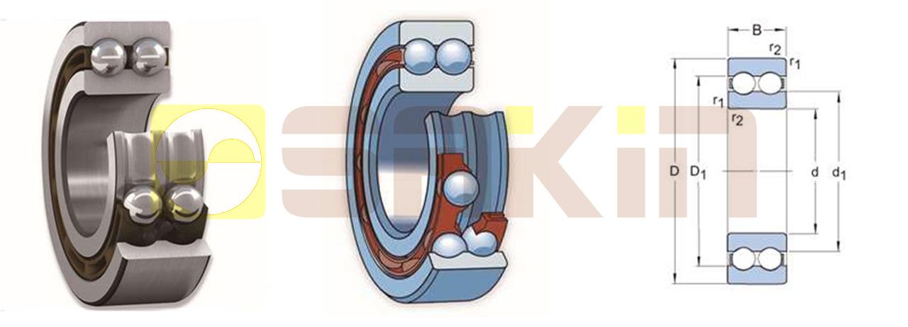 SKF双列深沟球轴承