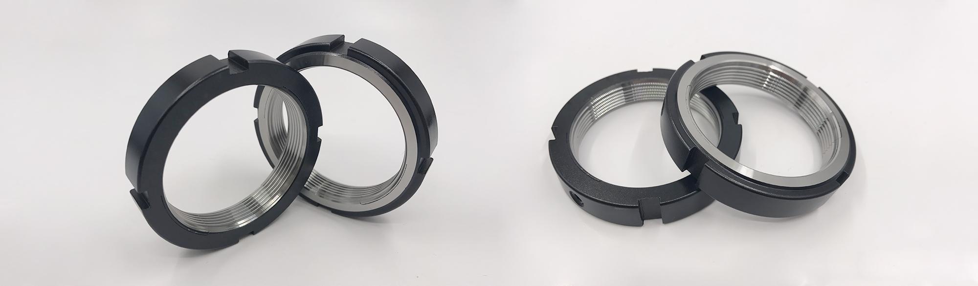LR/LRE系列切缝型的弹片锁紧螺母