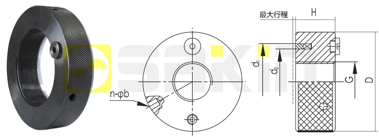 SKZ油驱动型液压螺母